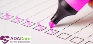 purple checklist plan