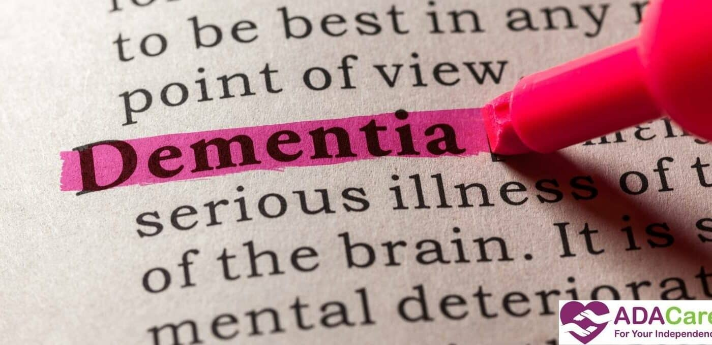dementia word highlighted