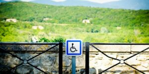 disabled friendly area view in australia